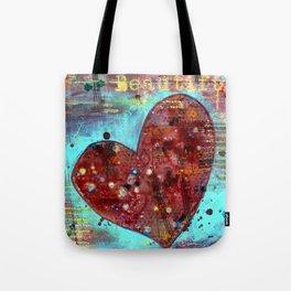 permission series: beautiful Tote Bag