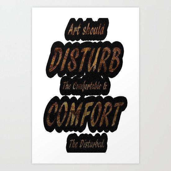 Disturb Art Print