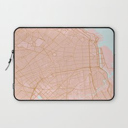 Buenos Aires map, Argentina Laptop Sleeve