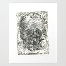 Da Vinci Notes Art Print