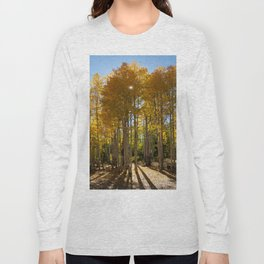 Autumn Blaze outside of Crested Butte, Colorado for #Society6 Long Sleeve T-shirt