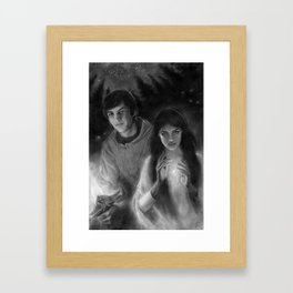 Richard and Kahlan Framed Art Print