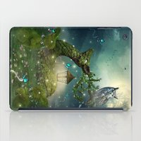 bebop iPad Cases featuring Keeper of the Enchanted - Spring Thaw by soaring anchor designs