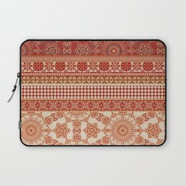 Ornate Moroccan in Red Laptop Sleeve