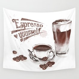 Espresso Yourself Wall Tapestry