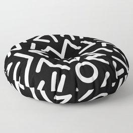Symbology Floor Pillow