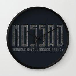Mossad - Israeli Intelligence Agency Wall Clock