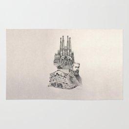 Tribute to Gaudi Rug