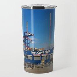 Coney Island 4 Photography Travel Mug