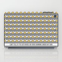river song iPad Cases featuring River Triangles by NOxLA