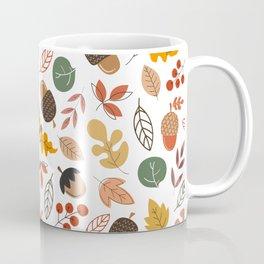Hello Fall Pattern Coffee Mug