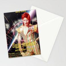 David Bowie - Ziggy stardust Stationery Cards