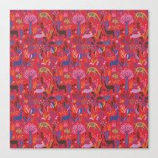 Padú (Pink) Canvas Print