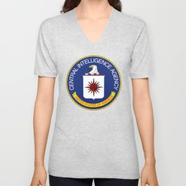 CIA seal Central Intelligence Agency Unisex V-Neck