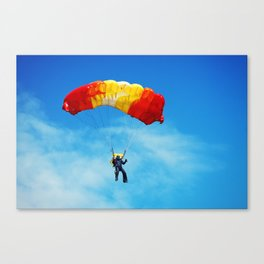 skydiving Canvas Print