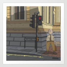 Oxford - Beaumont Street Art Print