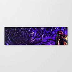 Metroid Metal: The Brood Canvas Print
