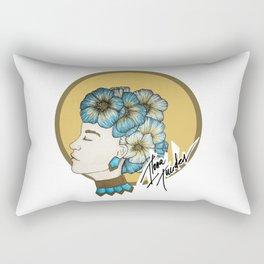 Hibiscus Madness Rectangular Pillow