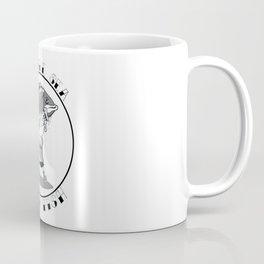 save the sea hug a fish Coffee Mug