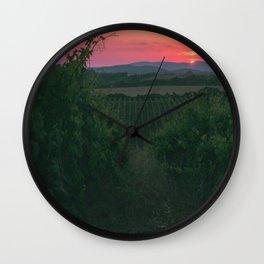 Vineyard Wall Clock