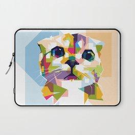 Little colorful cat Laptop Sleeve