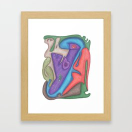 Drawing #75 Framed Art Print
