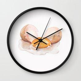 Color pencil Egg Wall Clock