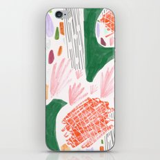 Seeing Spaces - White iPhone & iPod Skin