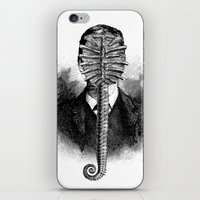 alien iPhone & iPod Skins featuring Alien by DIVIDUS