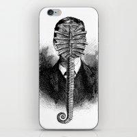 alien iPhone & iPod Skins featuring Alien by DIVIDUS DESIGN STUDIO
