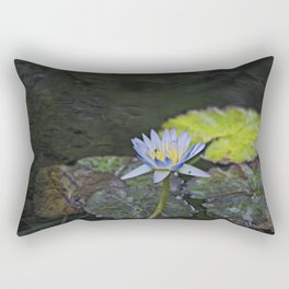 The water lily Rectangular Pillow