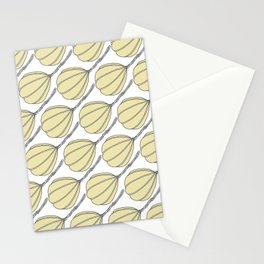Provolone (cheese pattern) Stationery Cards