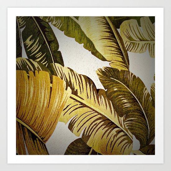 Palm Symphony Art Print