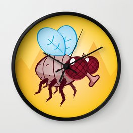 Larry the Fly Wall Clock