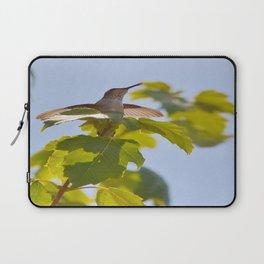 Hummingbird Chirping Away Laptop Sleeve