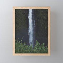 Wild Waterfall Framed Mini Art Print