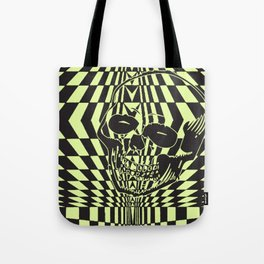 Shredding Skull Tote Bag