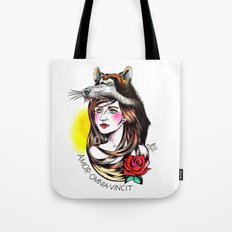 Chica Lobo Tote Bag
