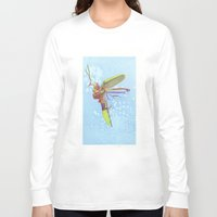 firefly Long Sleeve T-shirts featuring Firefly by Nate Barton
