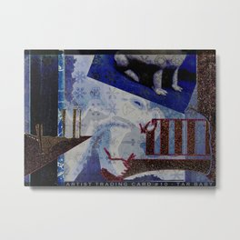 Artist Trading Card #10 - Tar Baby Metal Print