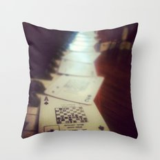 Spades  Throw Pillow