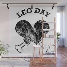 Leg Day Wall Mural