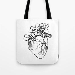 Elastic Heart Tote Bag