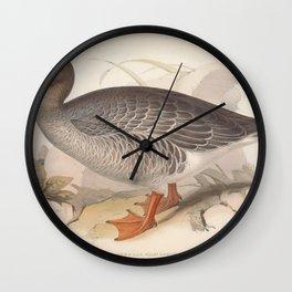 GREY LAG WILD GOOSE Wall Clock