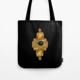 The Golden Monk Tote Bag