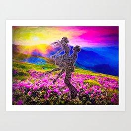 Dance of Joy Art Print