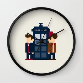 Doctor Who 10th & 11th Wall Clock