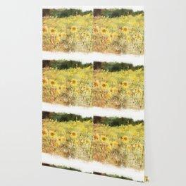 Field of Sunflowers Wallpaper