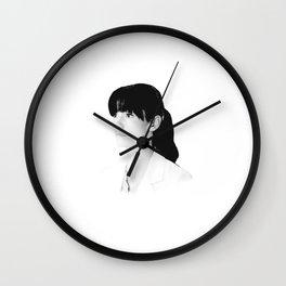 Lexie Grey Wall Clock