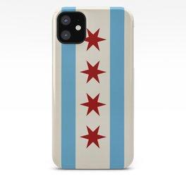 Chicago Flag II iPhone Case